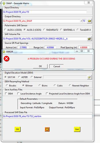 error_in_polsarpro
