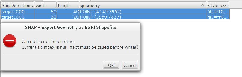 Error exporting Geometry to ESRI Shapefile - snap - STEP Forum