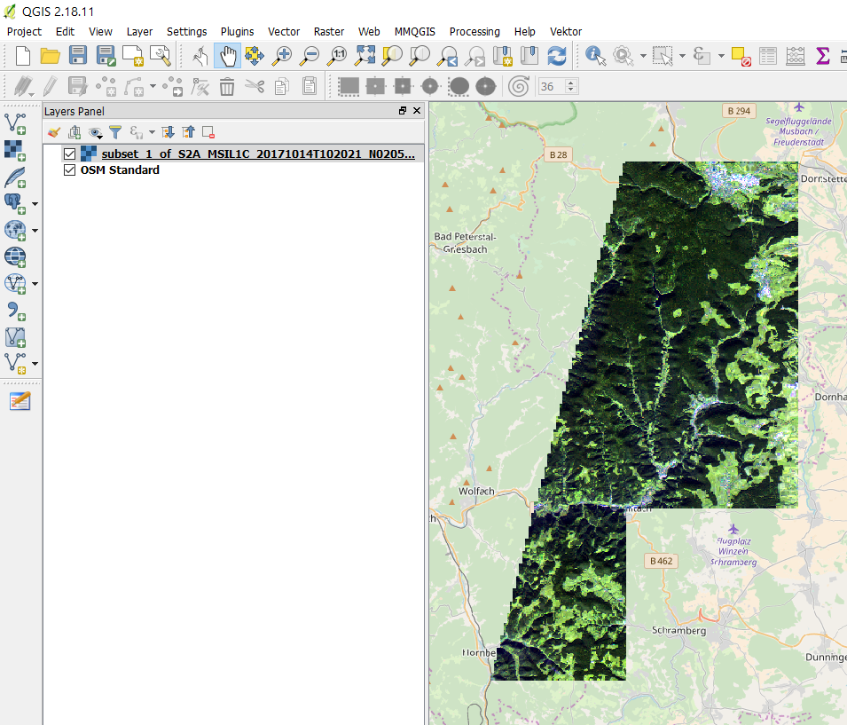 Exporting Sentinel 2 Imagery - s2tbx - STEP Forum