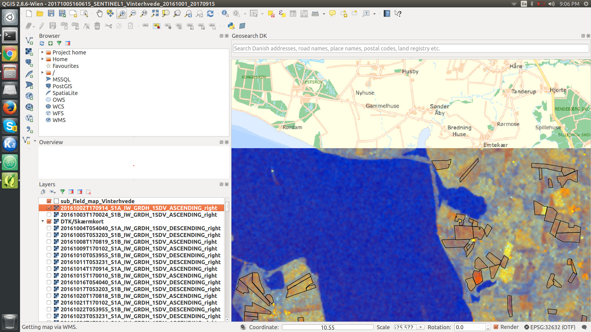 Aligning GRD data with GIS data - s1tbx - STEP Forum