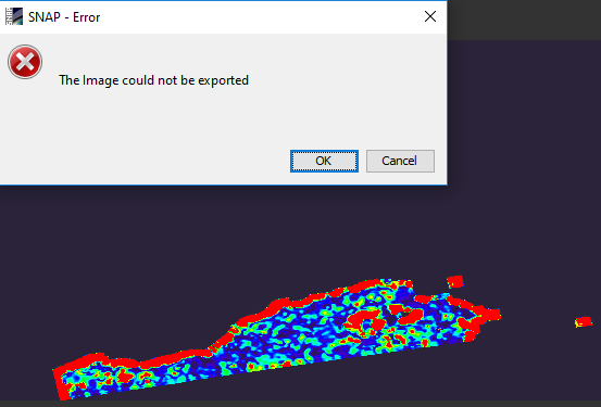 Google earth export error for offset tracking velocity