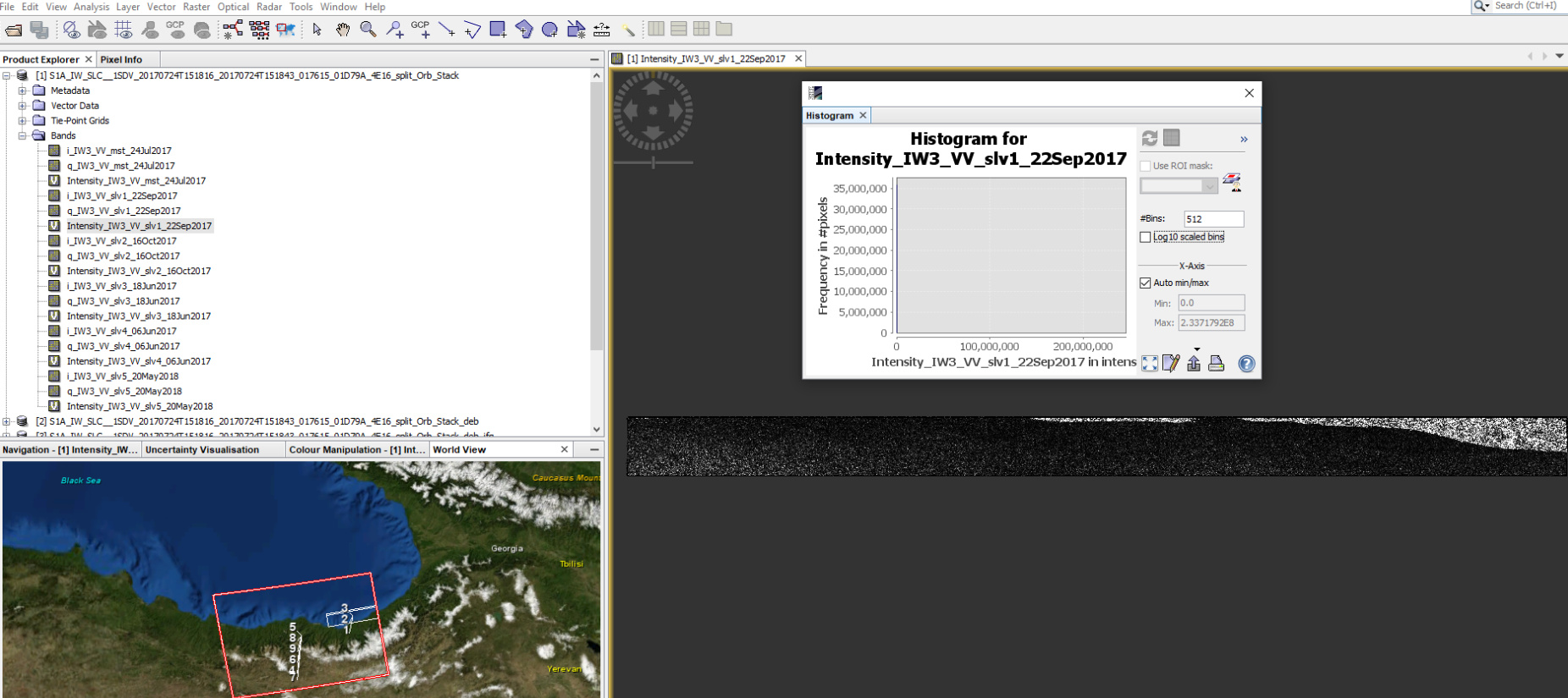 How to prepare Sentinel-1 images stack for PSI/SBAS in SNAP