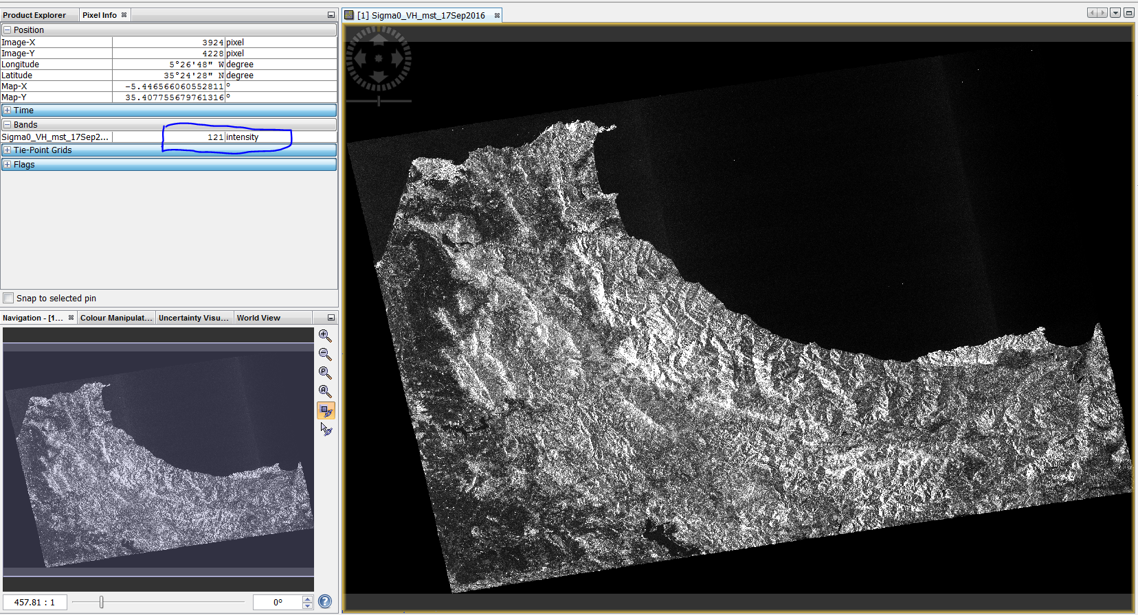 Exporting Files out of SNAP correctly for ArcMap - Interferometry