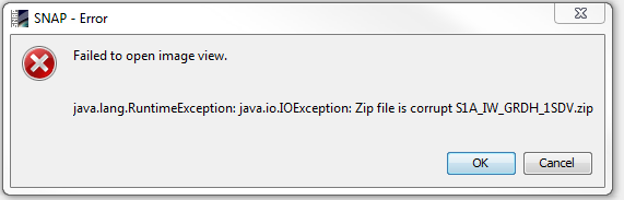 Problem of extarction sentinel data with winrar - snap