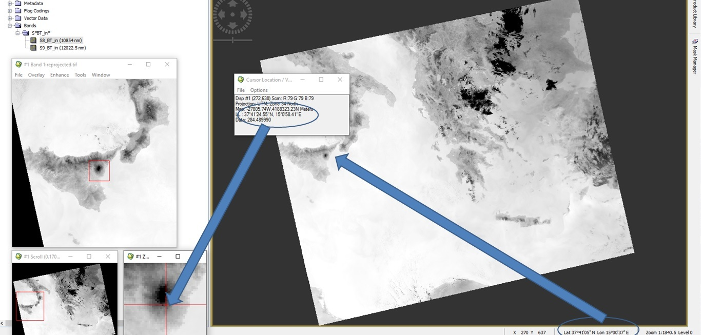 Coordinates problem with gpt and Sentinel-3 data - snap - STEP Forum
