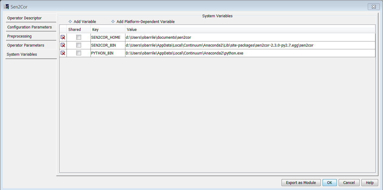 Sen2or install error - sen2cor - STEP Forum