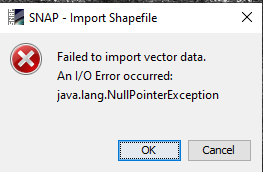 Can't import vector data - snap - STEP Forum