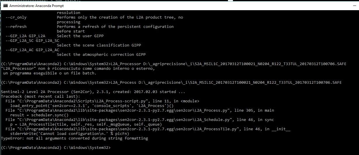 Resolved)Problem with Sen2Cor Windows 10 - sen2cor - STEP Forum