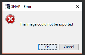 Error in exporting output (kmz file) - s1tbx - STEP Forum