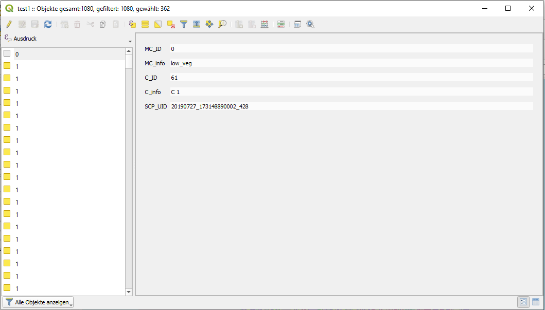 Vector Data Container: merge items - snap - STEP Forum