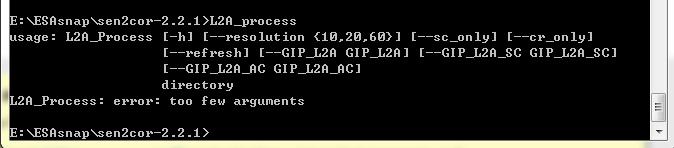 Sen2cor error--no module named osgeo gdal_array - sen2cor - STEP Forum